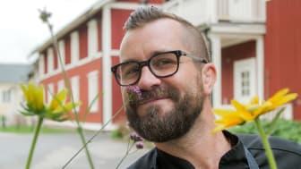 Fredrik Kämpenberg - Sveriges bästa vegokock.        Foto: Mattias Högberg
