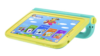 Husfrid med barnvänliga Samsung Galaxy Tab 3 Kids