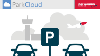Norwegian Reward's partnership with ParkCloud allows members to book airport parking and earn CashPoints