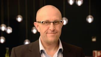 Per Gjerløv formidler erfaringer med norskledede smartgridprosjekter på European Utility Week.