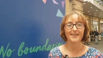 Artist Emma Johns talks about her involvement in the National Rail No Boundaries exhibition