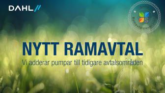 Dahl Sverige breddar avtalsområde med Sinfra – nu omfattas även pumpar