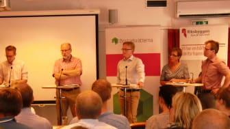 Het debatt om bosparande i Almedalen