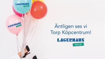 Lagerhaus fortsätter att öppna pop-up butiker!