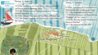 Am 18. und 19. September 2021 können Interessierte, Familien und Pädagog*innen im Rahmen des Projektes Langer Tag der StadtNatur am Programm der Berlin Cosmopolitan School teilnehmen.