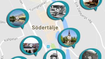 Lär känna Södertälje med Storyspot appen