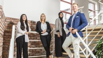 Thoren Business School Växjö lockade hela 71 elever när skolan startade i augusti.