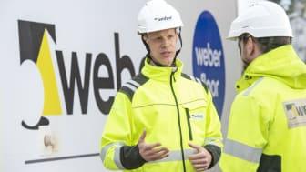 Anders Anderberg, Marknadsutvecklingschef på Weber