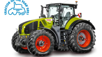 CLAAS AXION 960 CEMOS is Sustainable Tractor of the Year 2021!