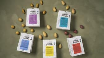 Svegros nya potatispåse i papper är designad för att gynna både miljön och potatisens hållbarhet.