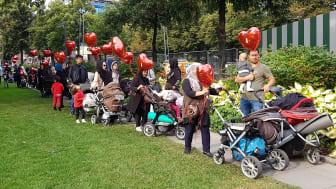 Till media: Mammorna från Junsele är i Stockholm - ska de välja Mellansel eller Europa?