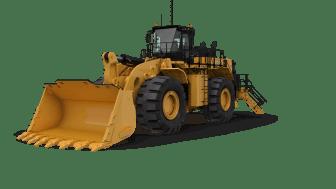 Cat 992, hjullastare - frilagd