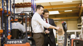 Toyota Material Handling Sweden bjuder in till pressträff på Logistik & Transport-mässan
