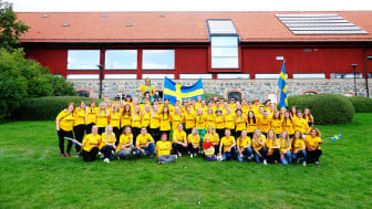 Från Sverige med märket Kött från Sverige sponsrar den Nordiska Landskampen 2019 anordnas den 18 – 21 /9 på Ultuna av Ultuna Studentkår på Sveriges Lantbruksuniversitet i Uppsala. Bilden är från 2018.