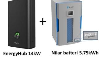 Cleantechbolaget Ferroamp lanserar ett nytt energilagerpaket för hemmabruk tillsammans med Nilar