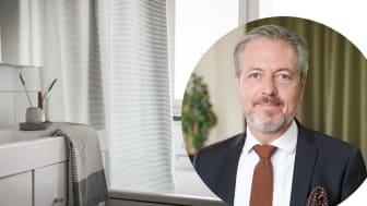 Nicklas Björklund, mäklare på SkandiaMäklarna, berättar om badrummets stora betydelse.