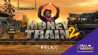 Pika-kasinot.com mukana Money Train 2 -kolikkopelin julkaisussa