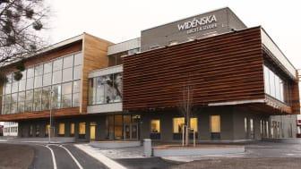 Widénska gymnasiet i nya lokaler på Vasagatan 56