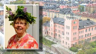 Kristain Brandänge är utsedd till hedersdoktor vid Ersta Sköndal Bräcke högskola.