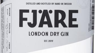 NYHET! Fjäre London Dry Gin; Svensk gin från småskaligt hantverksdestilleri!