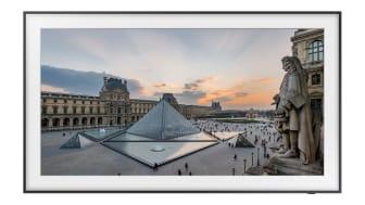 Konstverk från Louvren flyttar in hos Samsung The Frame