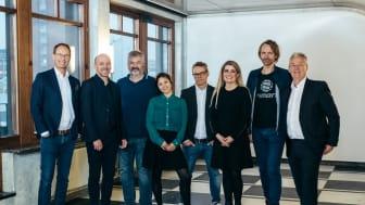 Samling med Simula i KA23, sammen med Höegh Eiendom og Cushman & Wakefield.