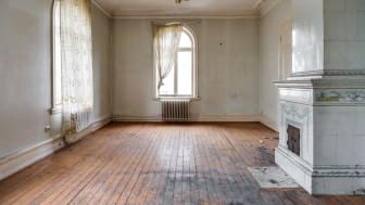 Bild från ett av de framtida vardagsrummen
