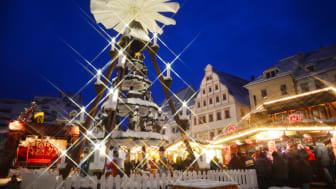 Pyramide auf dem Freiberger Christmarkt
