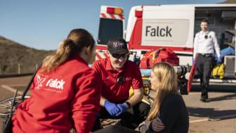 Falck USA er blevet genvalgt til at levere ambulancetjenester til mere end 2 millioner mennesker i store dele af Orange County, Californien.