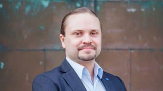 Kalle Bäck (KD) är sedan den 20 april ordförande i Got Event. FOTO: Dennis Lindbom