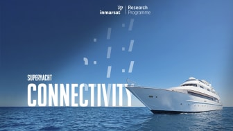 The new Inmarsat Superyacht Connectivity Report confirms that satellite communications usage and spend will continue to grow over the next five years