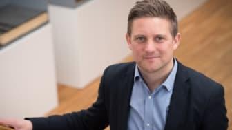 Jimmy Adlerberth för arbetet vidare för Sveriges takentreprenörer