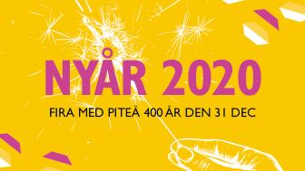 Firandet av Piteå 400 årstartar på nyårsafton.