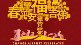 Changi Airport – a focal point for the Chinese New Year celebration!
