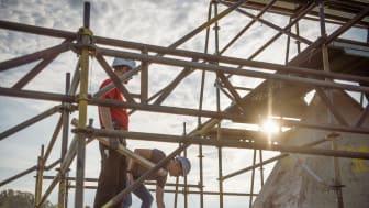 TORKRET steht für die anspruchsvolle Instandsetzung und Sanierung von Bestandsbauten, hier am Mariendom in Neviges. (Copyright: TORKRET GmbH/Fotograf: Bernd Kammerer)