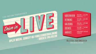 Annika Aakjær, Claus Hempler & Teitur er bekræftet på 'Drive In - Live' Touren.
