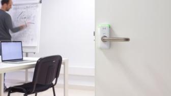 SALTO dörrbladsläsare skapar säkerhet i skolan
