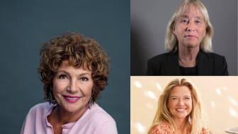 Välkommen till kvällens digitala författarträff med Amelia Adamo, Emma Hamberg och Britt-Marie Mattsson