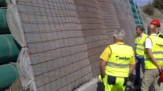 Leca® Støttevæg / lightweight tube wall