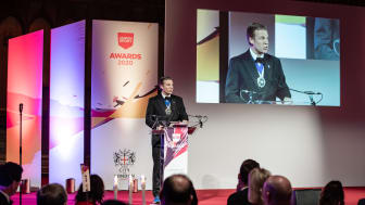 Lord Mayor William Russell opens the London Sport Awards 2020 on behalf of the City of London Corporation