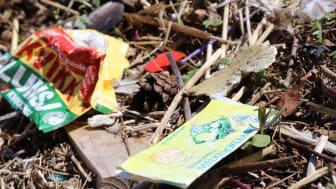 Vi slipper stadig ut mer plast til miljøet, og plastsøppel har etter hvert blitt et vanlig syn både langs strender og i andre naturområder. (Foto: David Pettersen Eidsvoll /NIVA)