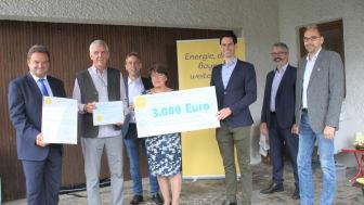 Schritt für Schritt hat Max Rabenbauer aus Hutthurm sein Einfamilienhaus aus den 1980er-Jahren fit für die Energiezukunft gemacht und wurde nun mit dem Bürgerenergiepreis Niederbayern 2021 ausgezeichnet.