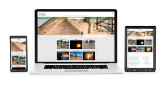 Brogårdsand lanserar ny och förbättrad webbplats