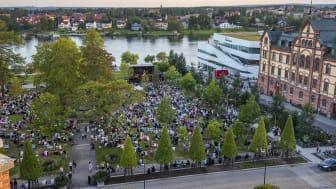 Sommar i Umeå (HÖGUPPLÖST). Foto Fredrik Larsson