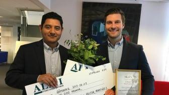 Från vänster: Hector Martinez och Erik Gatenholm.