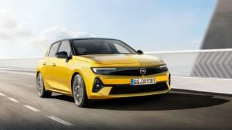 Nya Opel Astra.