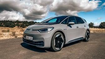 Volkswagen ID.3 med däck från Goodyear leder vägen in i en ny era av e-mobilitet