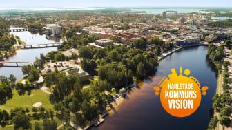 Ett bättre liv i solstaden är Karlstads kommuns nya vision.