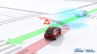 Varsel om motgående trafikk førerassistanse Kuga 2020