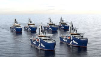 Kongsberg Maritime is to design and equip two specialist double-ended CSOV/SOVs for Awind